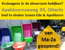 Showroom kruiwagens Otterlo